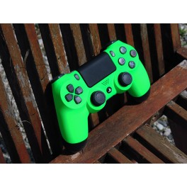 OWND PS4 V2 Soft Touch Néon Green