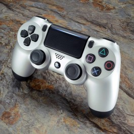 OWND PS4 V2 Soft Touch Silver