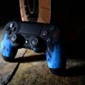 OWND PS4 V2 Blue Fire